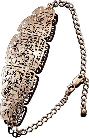 Браслет женский Платина 05-0558-00-000-1110-48 р.21.5
