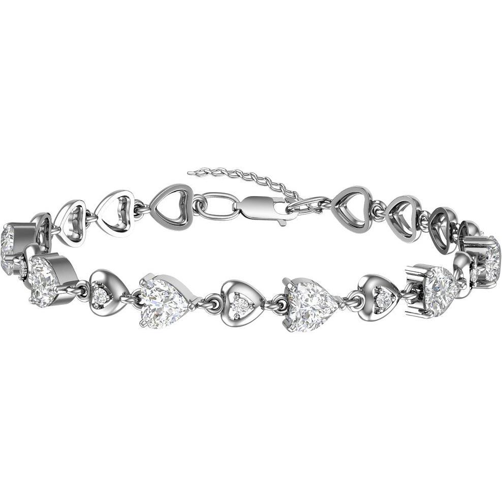 Браслет женский F-Jewelry A0700605 р.18