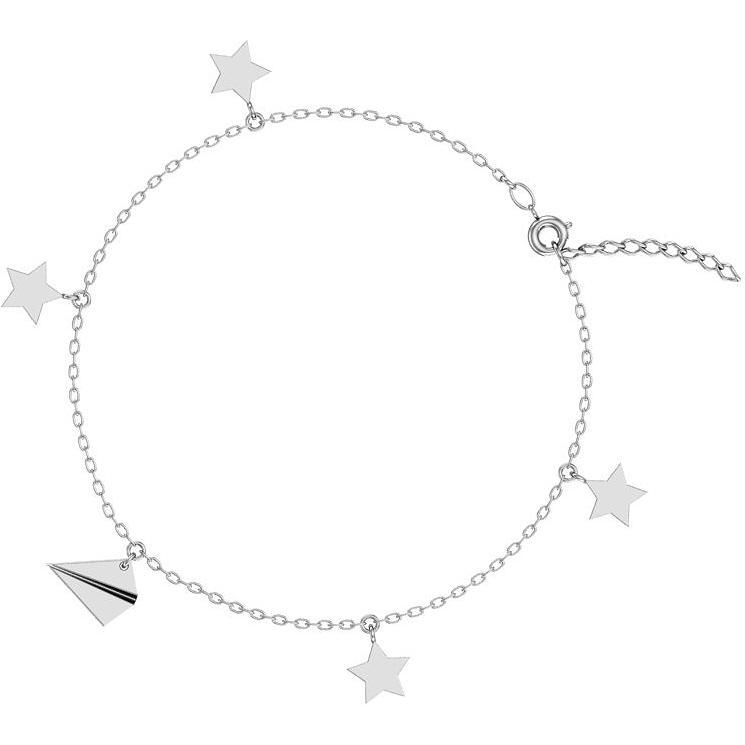 Браслет женский F-Jewelry A0720427 р.23