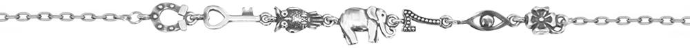 Браслет женский F-Jewelry A0720239 р.16.5