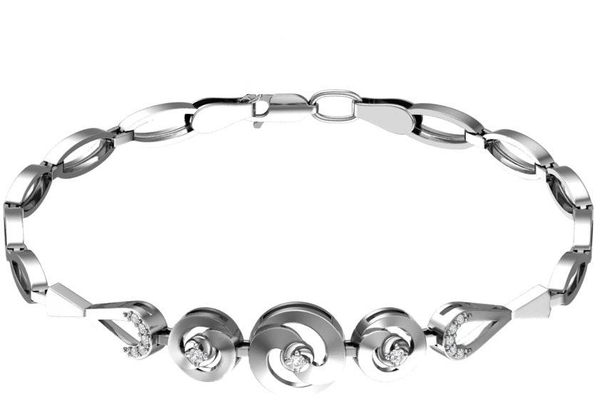 Браслет женский F-Jewelry A0700581 р.16