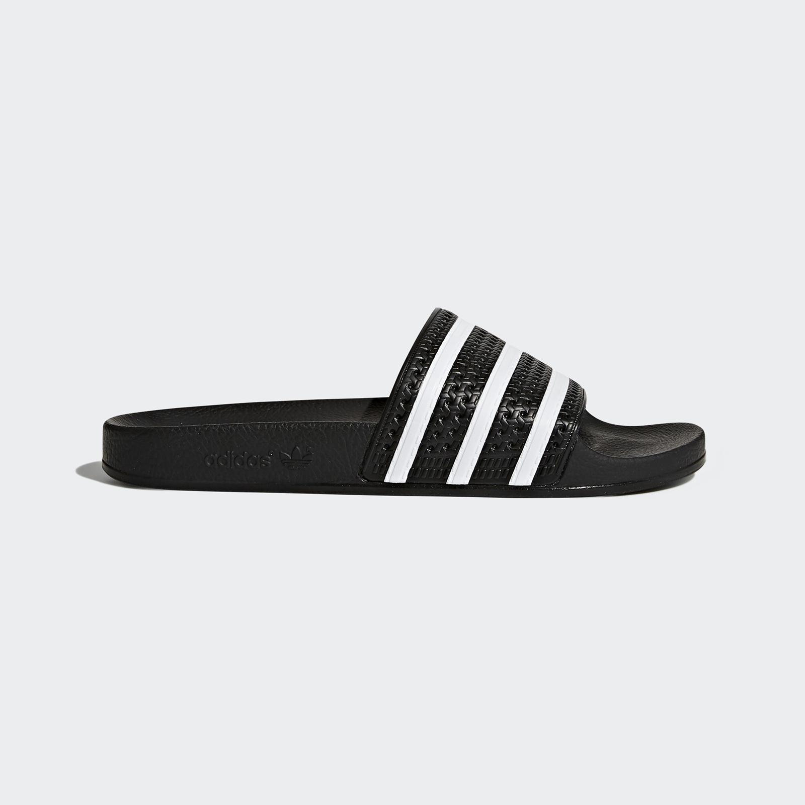 Шлепанцы мужские Adidas Adilette черные 5 UK