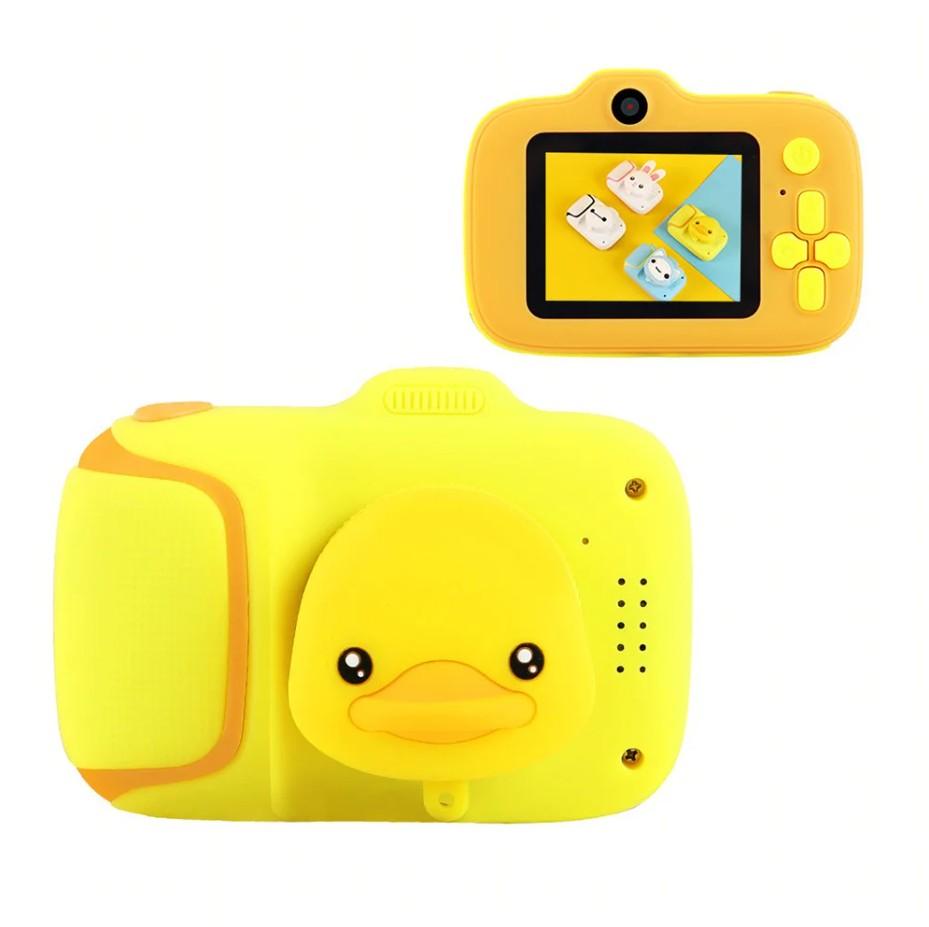 Купить Детский цифровой мини фотоаппарат Kids Camera Cartoon Camera Уточка,