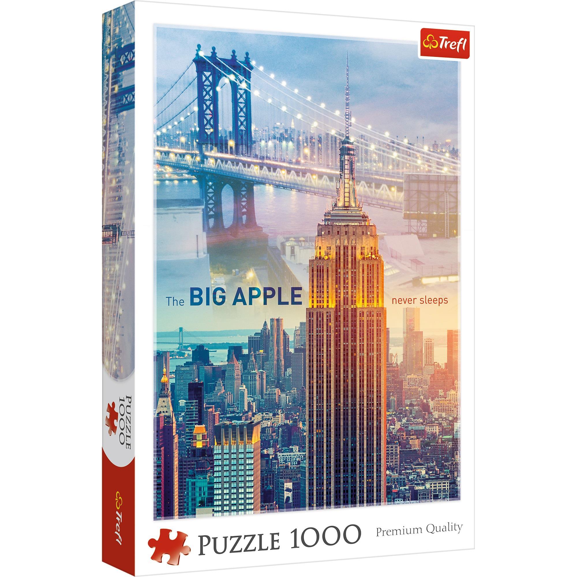 Купить Пазл Trefl Нью-Йорк на рассвете, 1000 деталей,