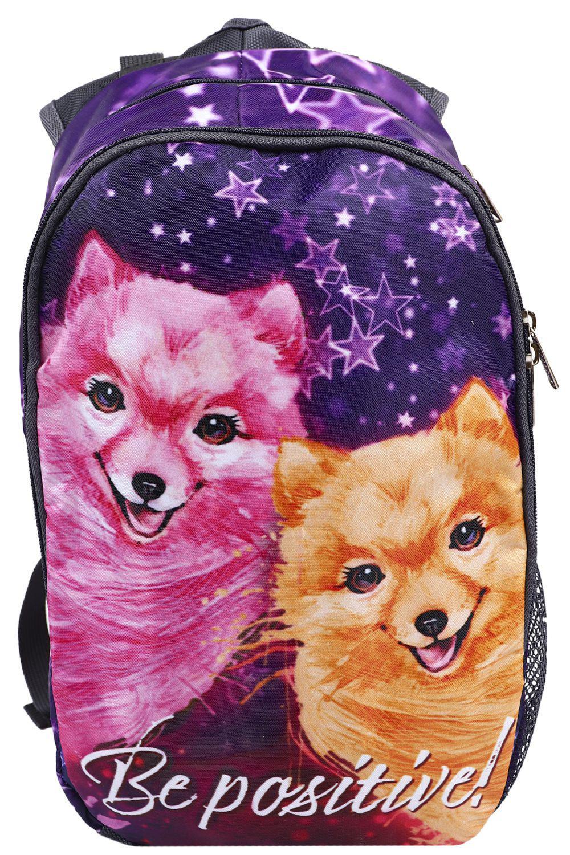 Купить NP05/20-M, Рюкзак для девочек BagRio цв.фиолетовый,
