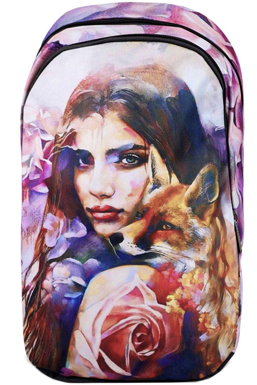 Купить NP41/19-M, Рюкзак для девочек BagRio цв.разноцветный,
