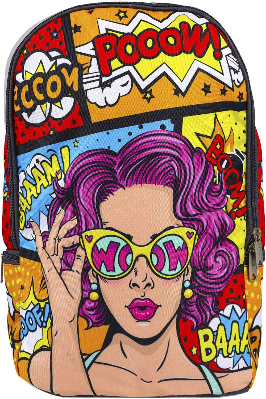 Купить NP16-B, Рюкзак для девочек BagRio цв.разноцветный,