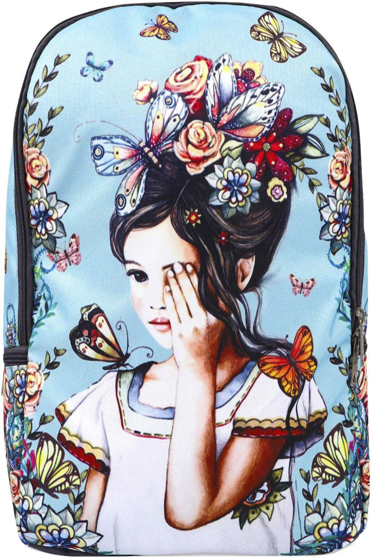 Купить NP22-B, Рюкзак для девочек BagRio цв.голубой,