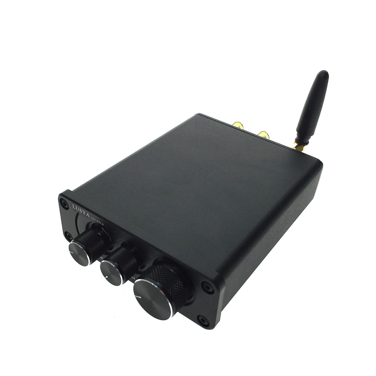 Интегральный усилитель Espada Bluetooth V5.0 Black