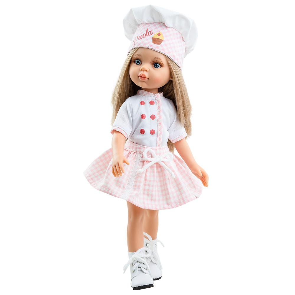 Кукла Карла кондитер, 32 см Paola Reina