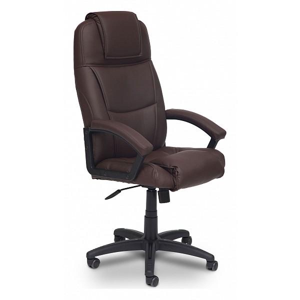 Кресло руководителя TetChair Bergamo, коричневый