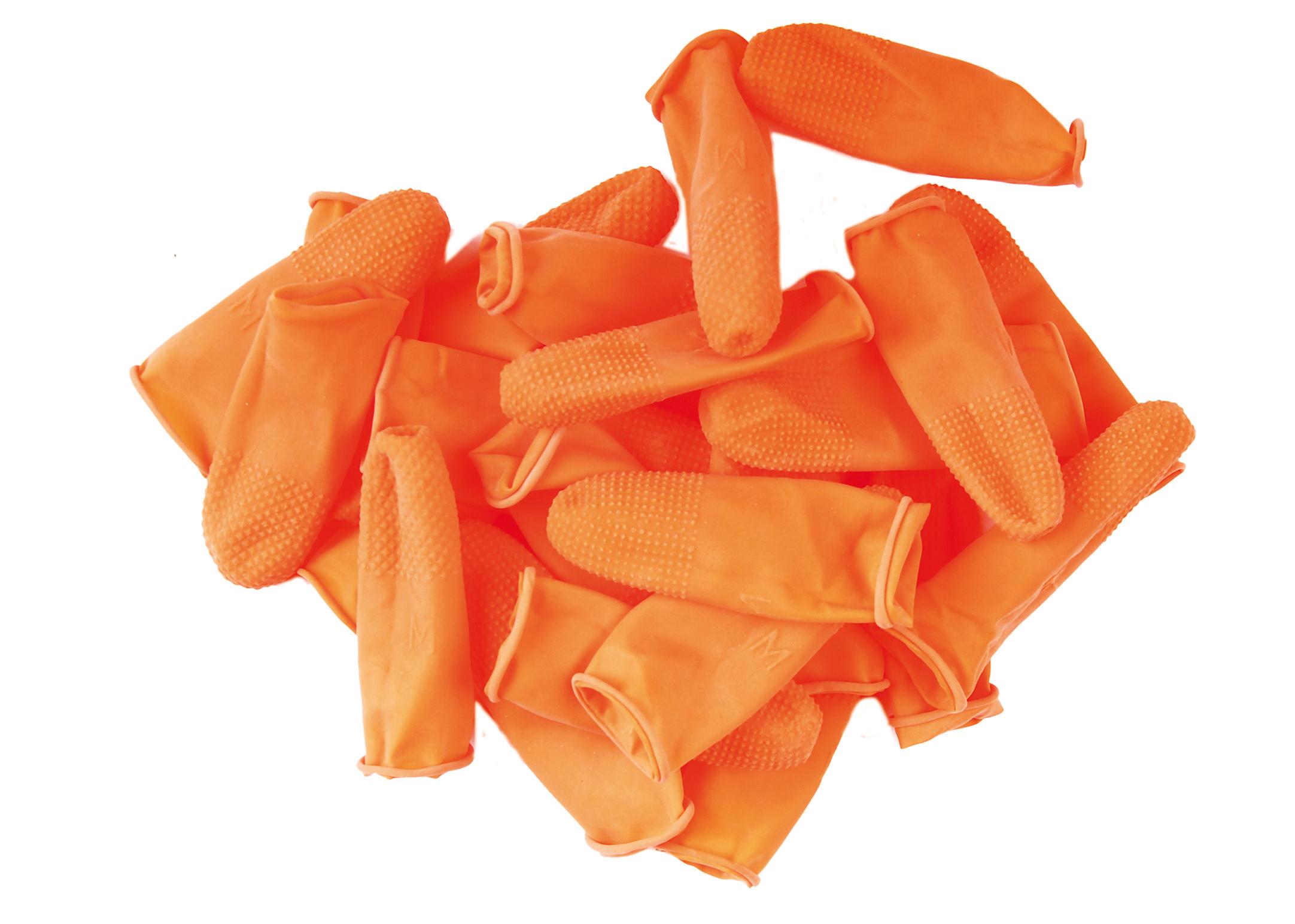 Набор напальчников для тримминга Show Tech Orange,