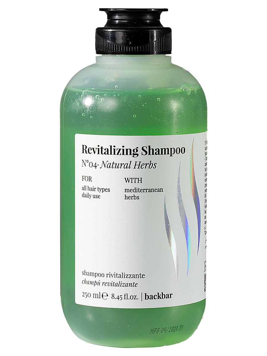 Купить Шампунь FarmaVita BACKBAR REVITALIZING для восстановления волос детокс №04 250 мл