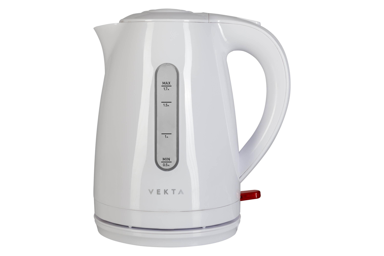 Чайник электрический Vekta KMP 1704 White
