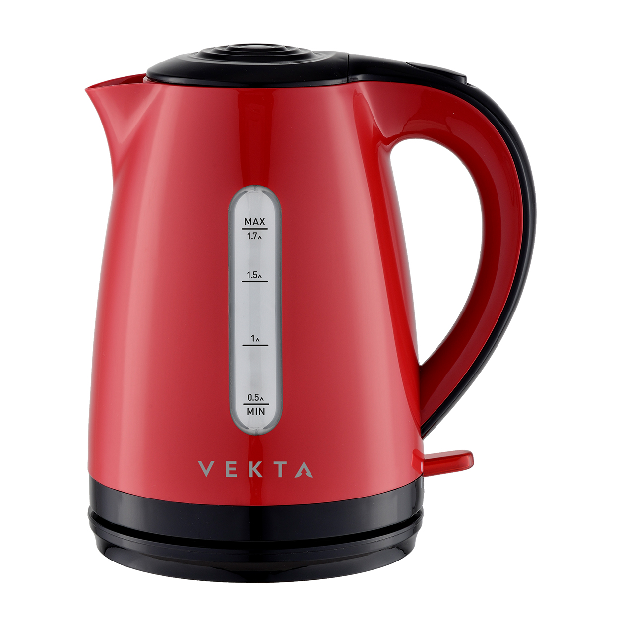 Чайник электрический Vekta KMP 1704 Red/Black