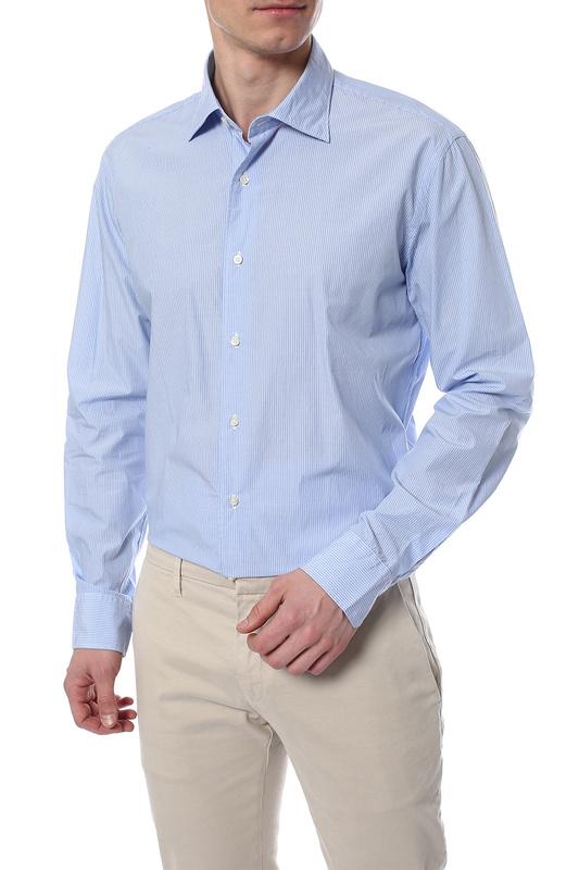 Рубашка мужская Marina Yachting 210275223450 голубая 42