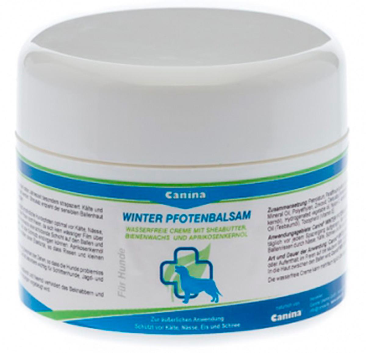 Защитный крем для лап CANINA Winter Pfotenbalsam,