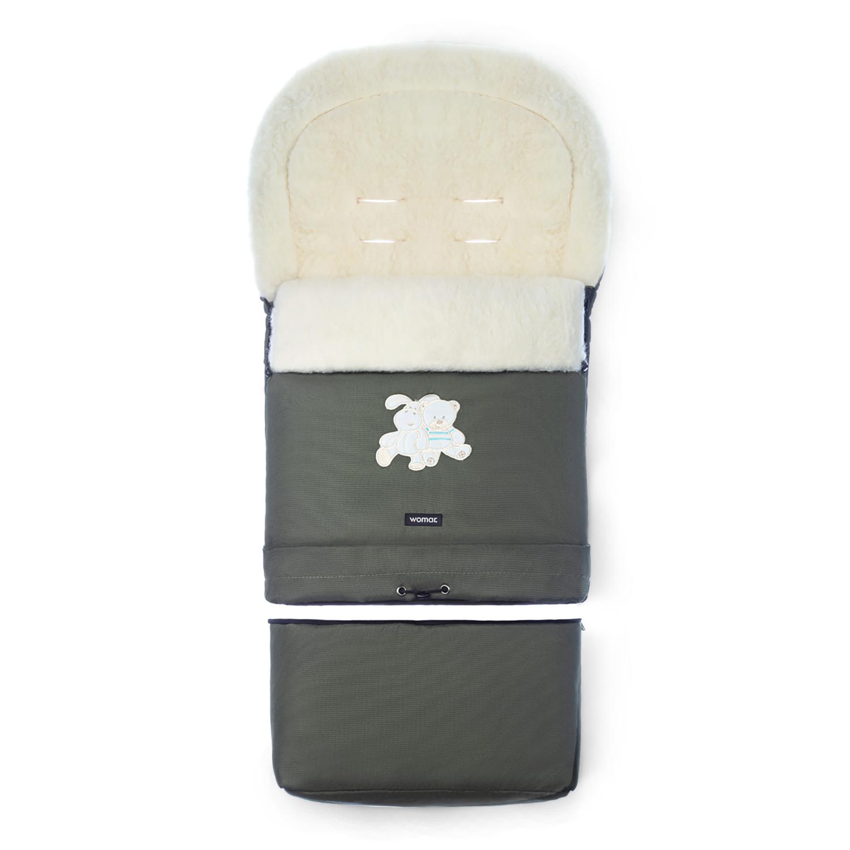 Купить Конверт-мешок для детской коляски WOMAR Multi Arctic оливковый,