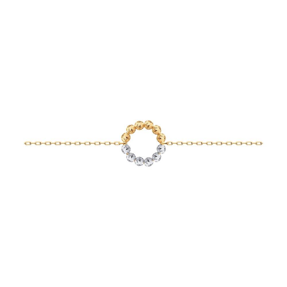 Браслет из красного золота р. 17 Diamant 51-150-01229-1