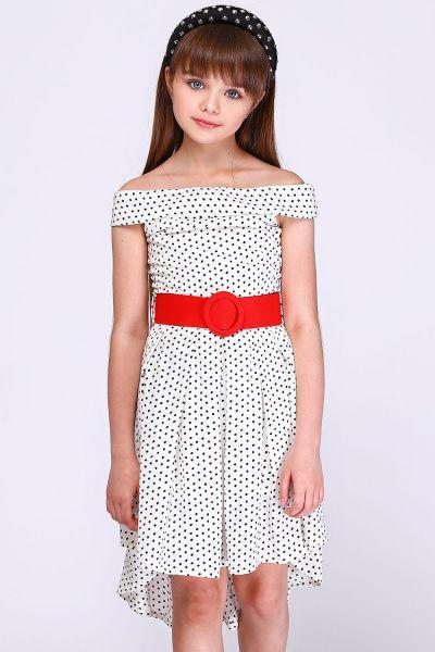 Купить MG119, Платье детское Manila Grace цв.белый,