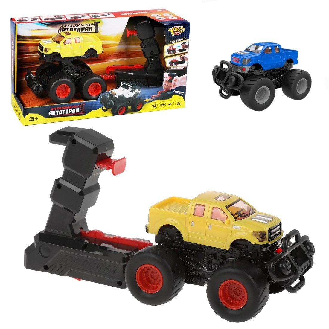 Купить Игровой набор Наша Игрушка Автотаран, устройство для запуска, звук M0297-25, Наша игрушка,