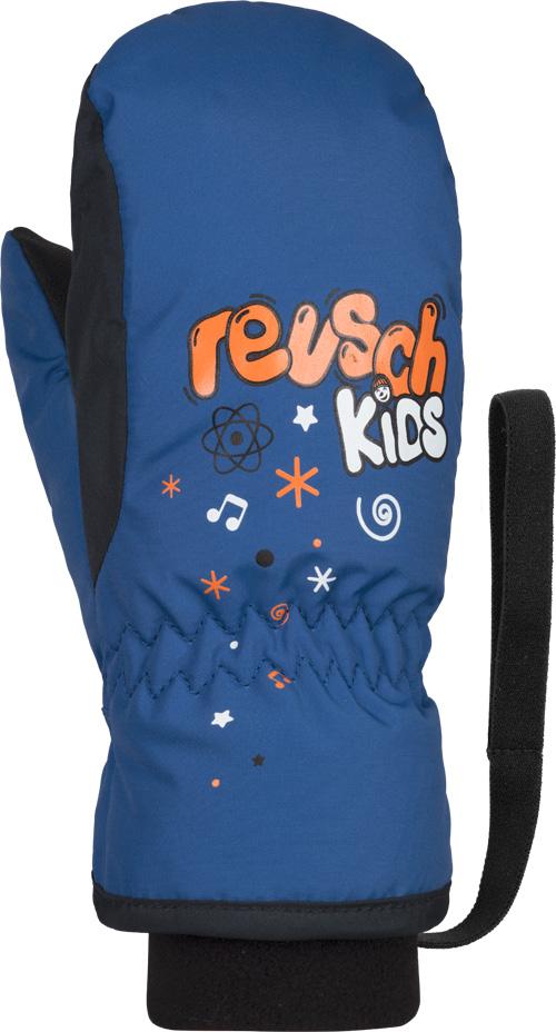 Перчатки Reusch Kids Mitten, dazzling blue, 3 Inch