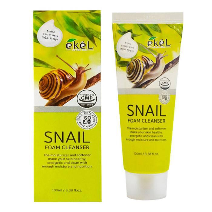 Купить Нежная пенка для умывания с экстрактом муцина улитки Ekel Snail Foam Cleanser, 100 мл