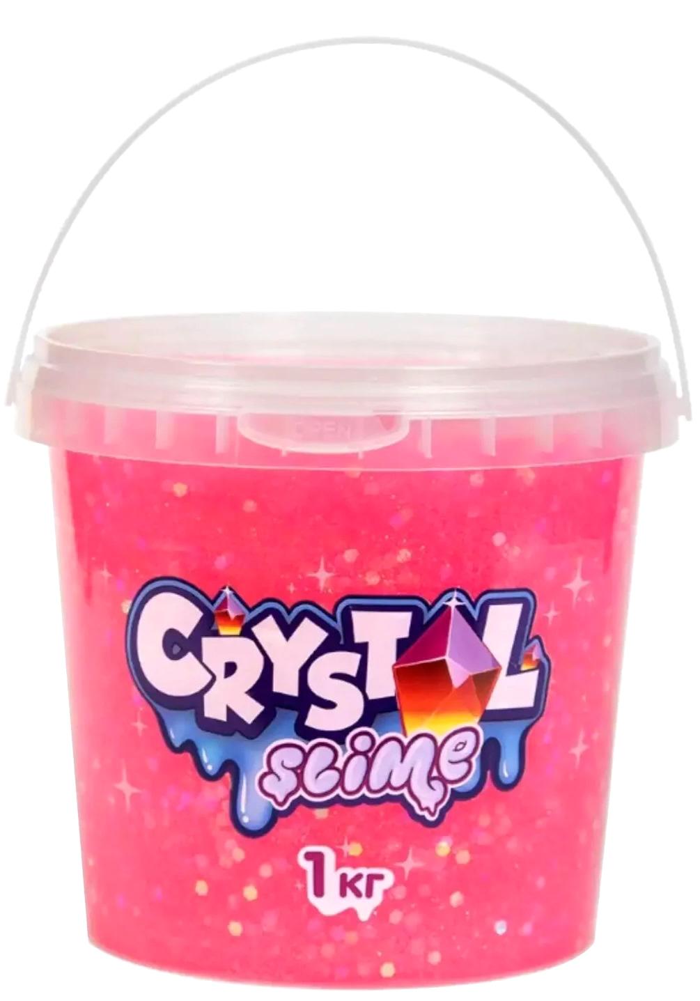 Набор для слайма Slime Crystal, розовый, 1 кг S300-7