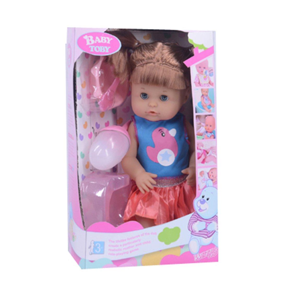 Купить Мой малыш, 31 см, пьет, писает, 4 предмета, коробка, Кукла Наша Игрушка Мой малыш, 4 предмета 319022B13, Наша игрушка,