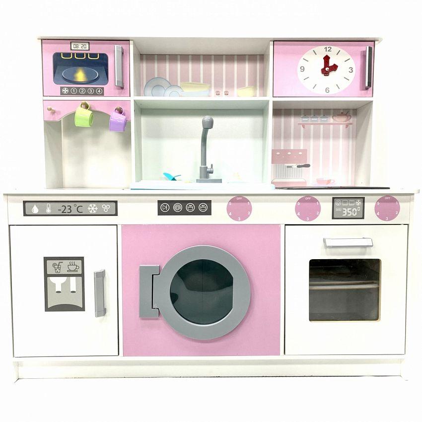 Детская интерактивная кухня DreamToys Аделина, с водой, светом и звуком ADEL272001
