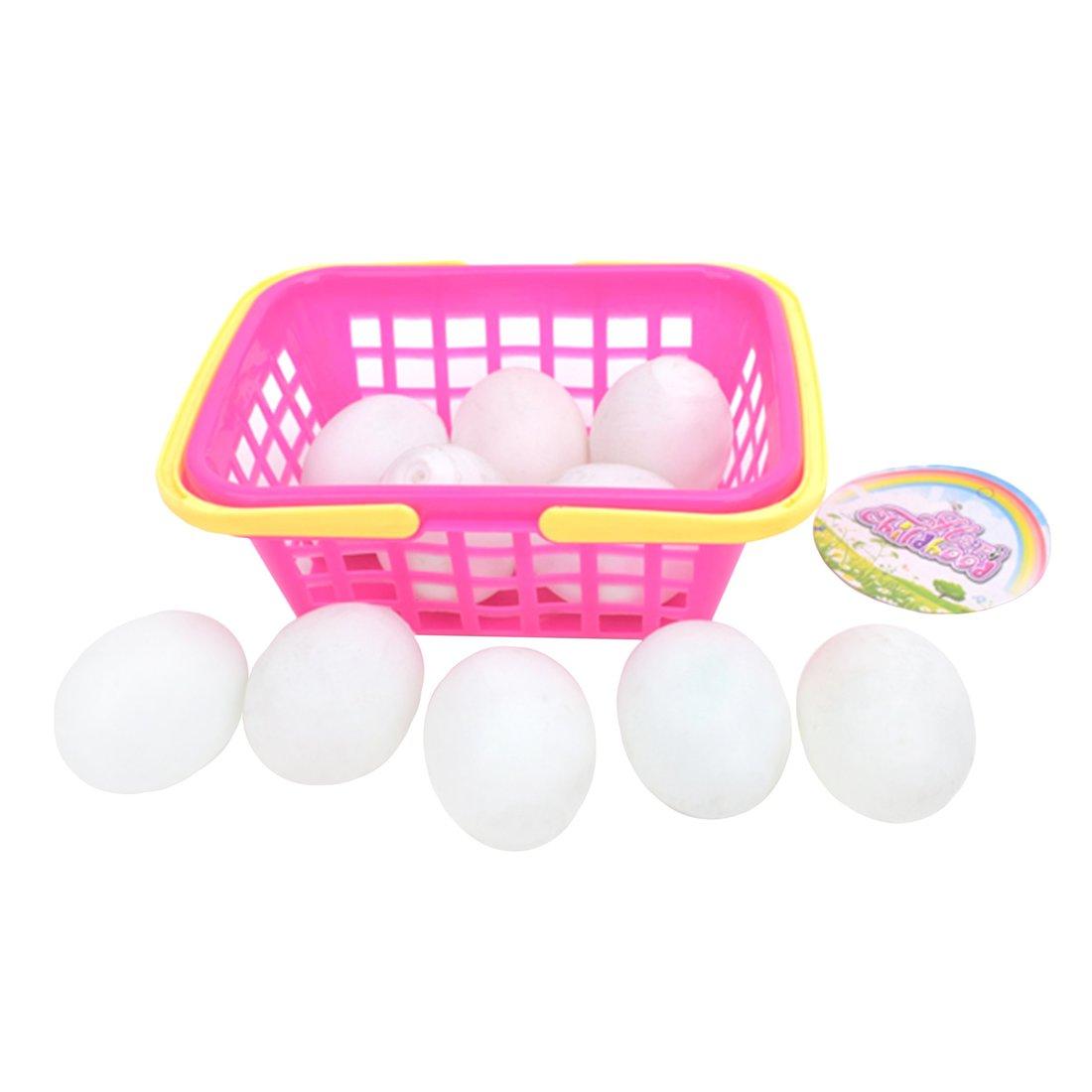 Набор Наша Игрушка яйца, 10 шт, в корзине 8989-50