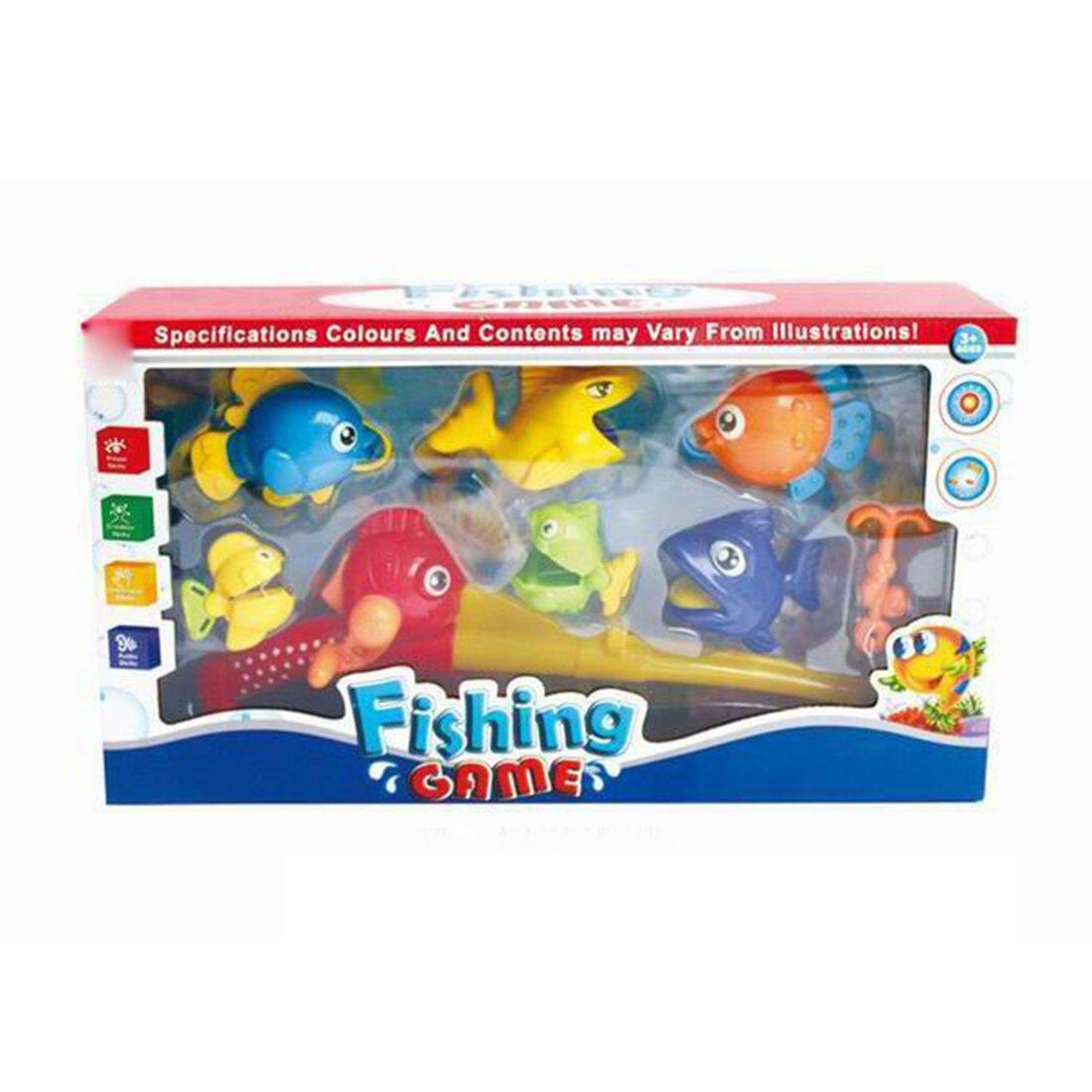 Купить 4 предмета, коробка, Игра в рыбалку Наша Игрушка 4 предмета, Y9436054, Наша игрушка,