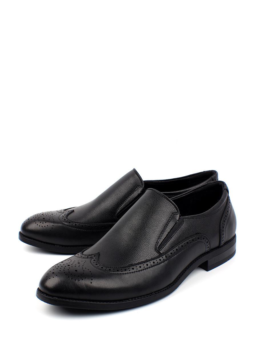 Туфли мужские BERTEN BSL 21-182 черные 45 RU
