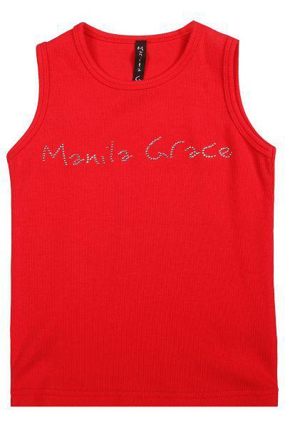 Купить MGB175, Майка детская Manila Grace цв.красный,