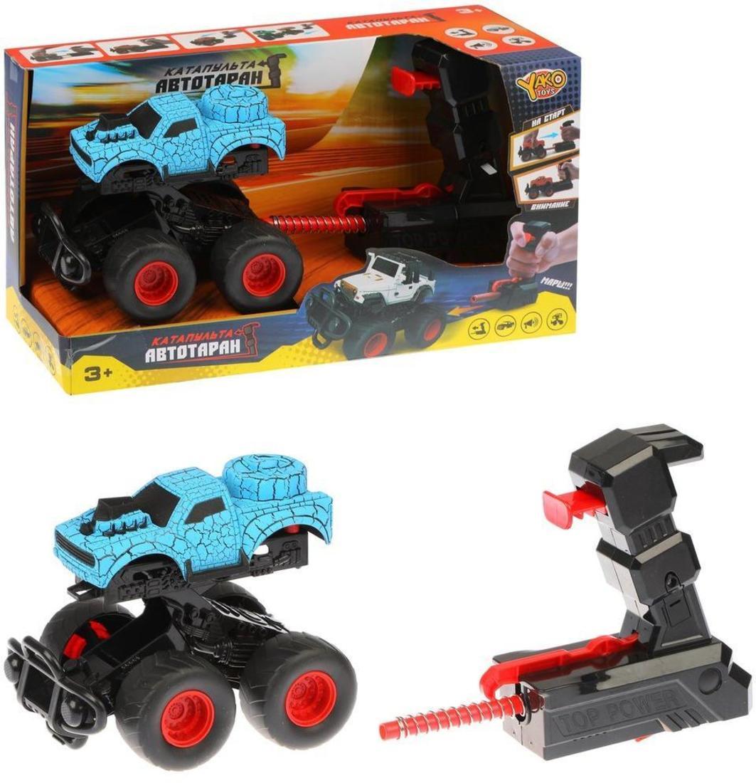 Купить Игровой набор Наша Игрушка Автотаран, устройство для запуска M0297-17, Наша игрушка,