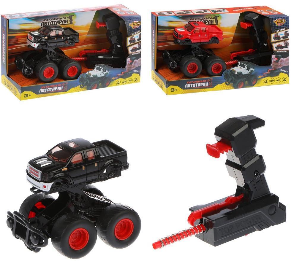 Купить Игровой набор Наша Игрушка Автотаран, устройство для запуска M0297-1, Наша игрушка,