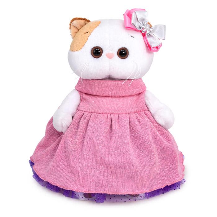 Купить Мягкая игрушка BUDI BASA 24см Ли-Ли в платье с люрексом (LK24-068),