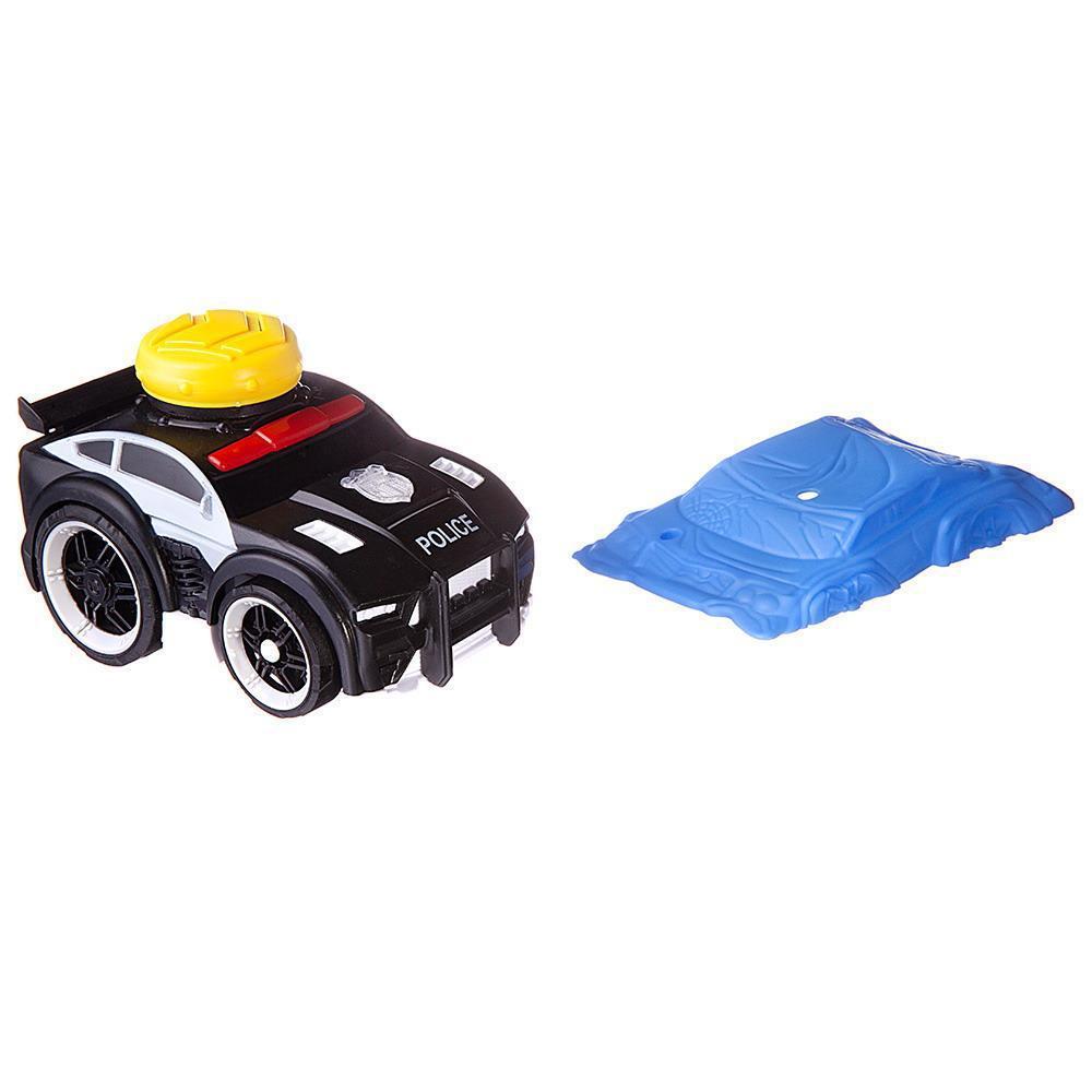Купить АвтоСити , свет и звук, полиция черная, Игровой набор ABtoys АвтоСити, полиция черная C-00418,