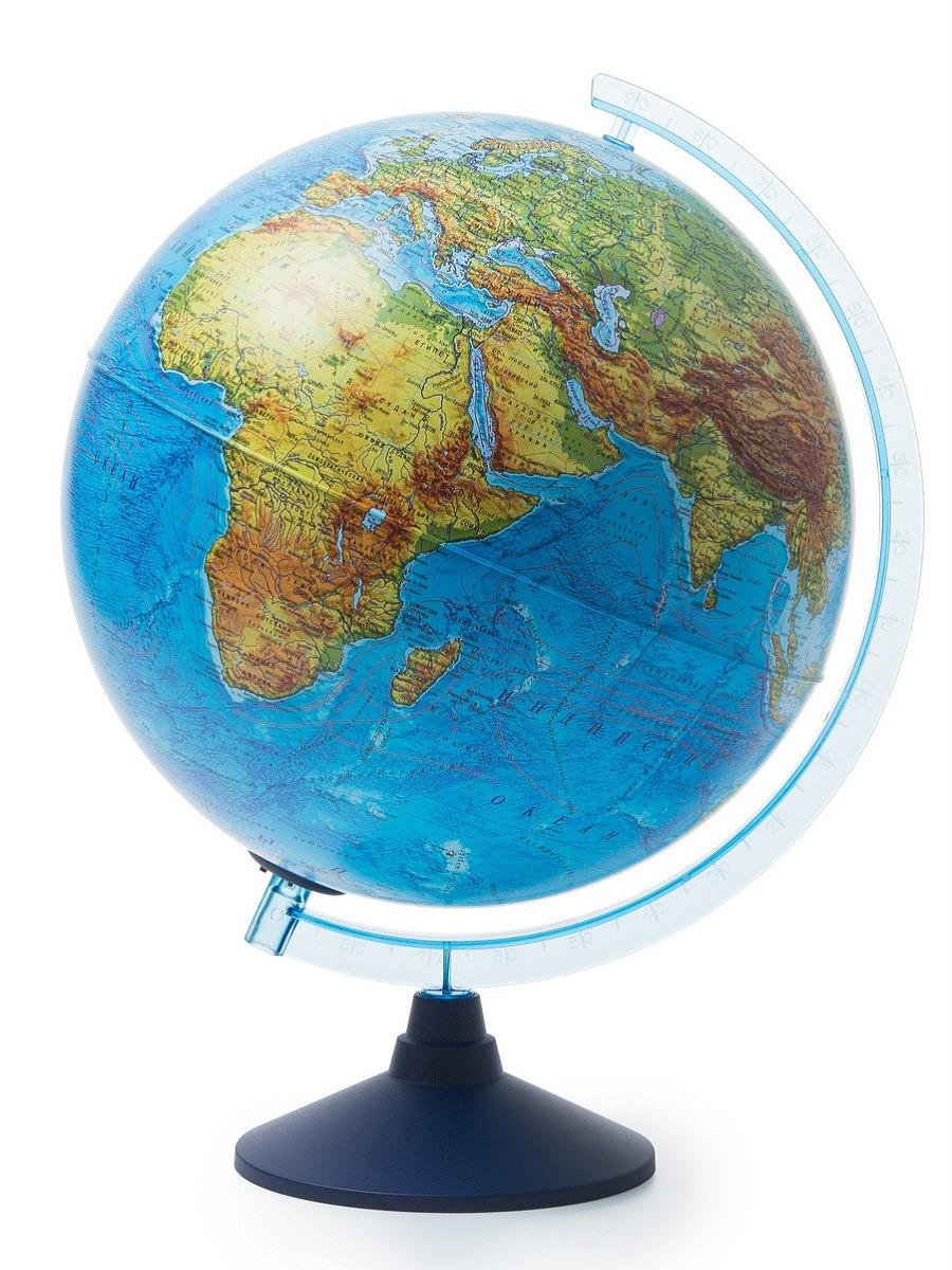 Globen Глобус мира физический  с подсветкой от батареек d320, Ве013200262