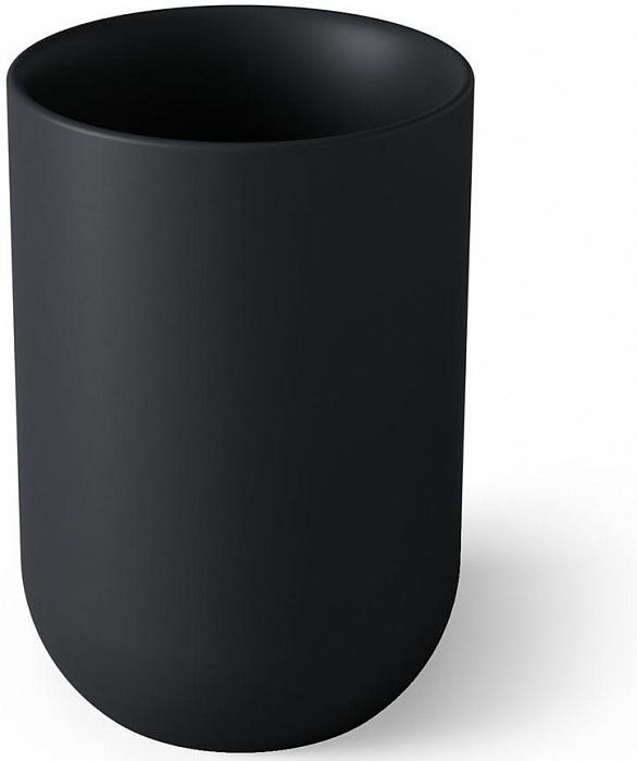 Органайзер стакан для зубных щеток Junip черный