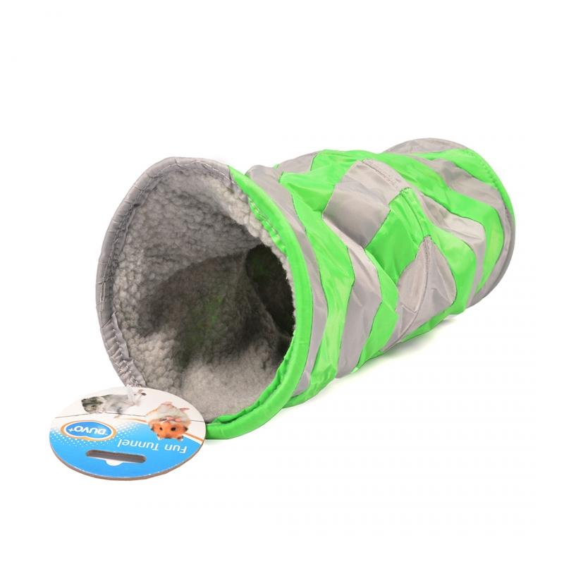 Тоннель для все грызуны Duvo+Туннель мягкий, нейлон,