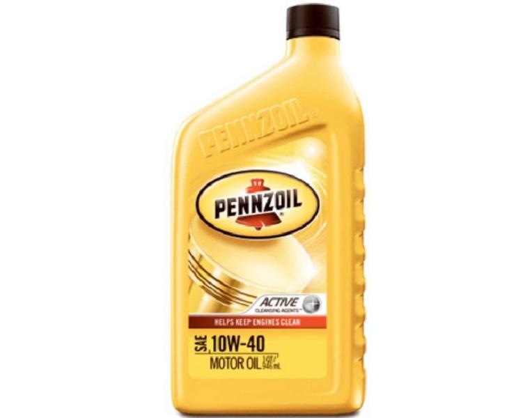 Моторное масло Pennzoil SAE 10W 40 0,946л