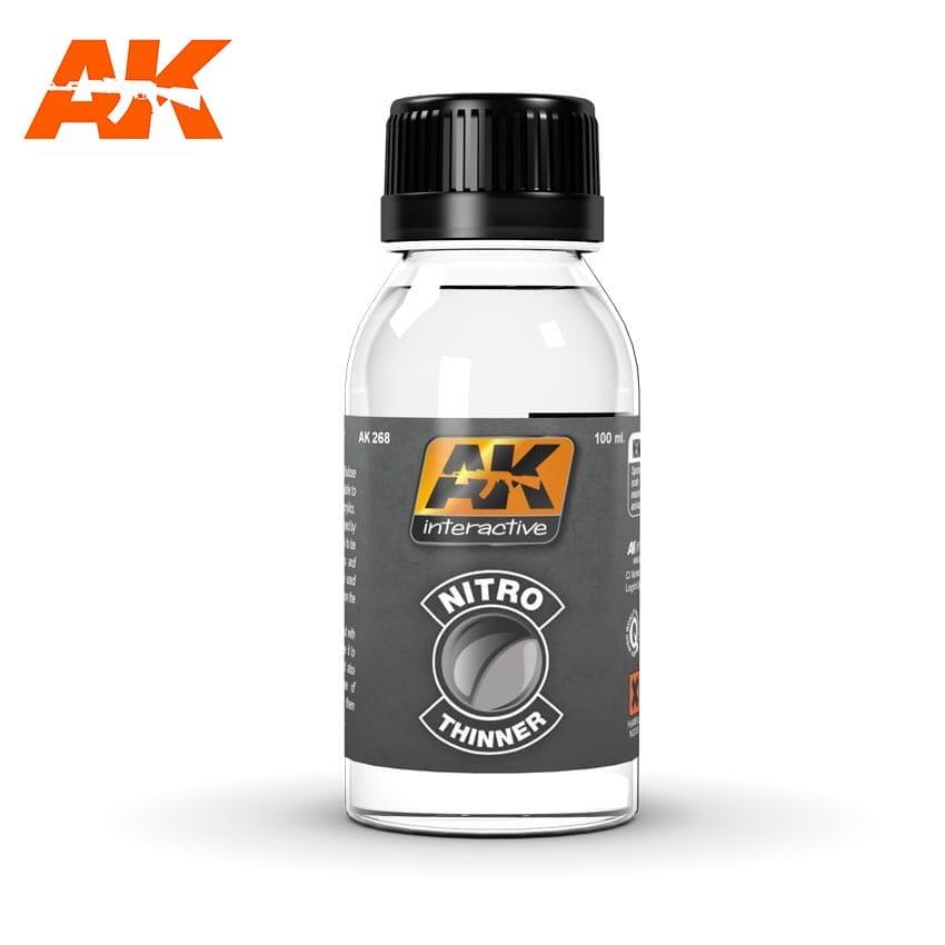 Купить Растворитель нитро AK Interactive AK-268,