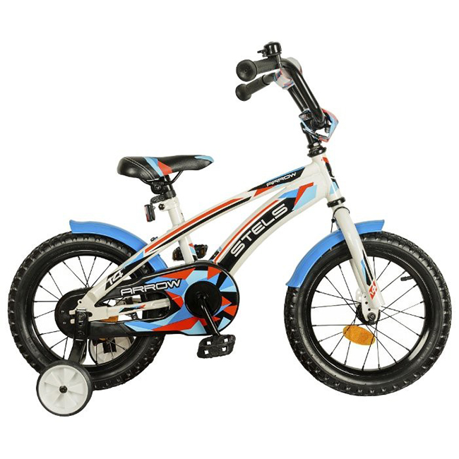 Велосипед Stels Arrow 14 V020 (2021) белый LU070699