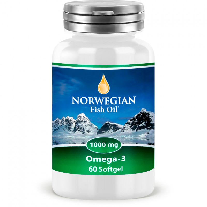 Омега жиры NORWEGIAN Fish Oil Omega