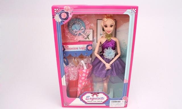 Купить С набором одежды, в коробке, 22*4, 5*32, 5 см, Кукла ZHORYA с набором одежды, 5 см 2000961,