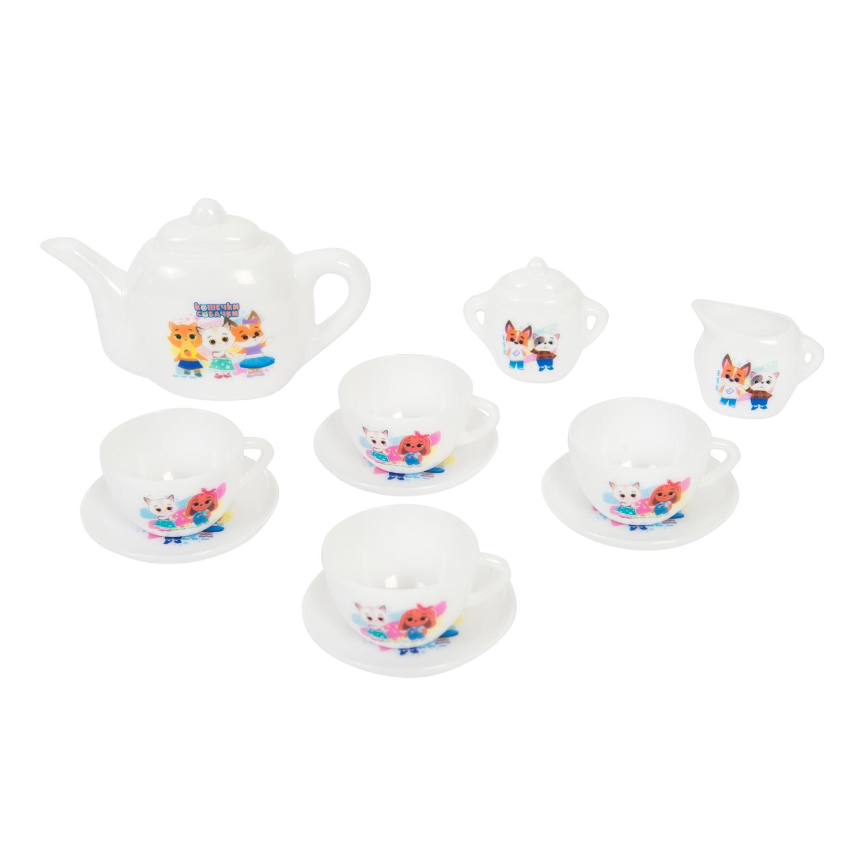 Набор посуды Кошечки-Собачки, чайный сервиз, 12 предметов