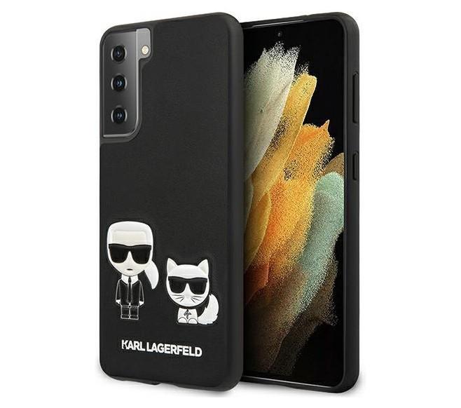 Чехол CG Mobile Karl Lagerfeld Karl&Choupette bodies Galaxy S21 Черный