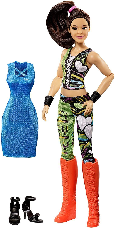 Кукла Mattel Fashions WWE Superstars Рестлинг Суперстарс Bayley