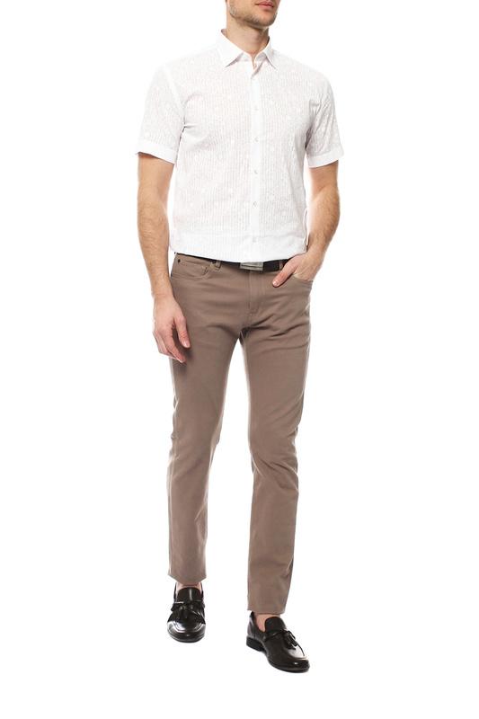 Рубашка мужская FAYZOFF-SA 1583S-01 белая L-41-42
